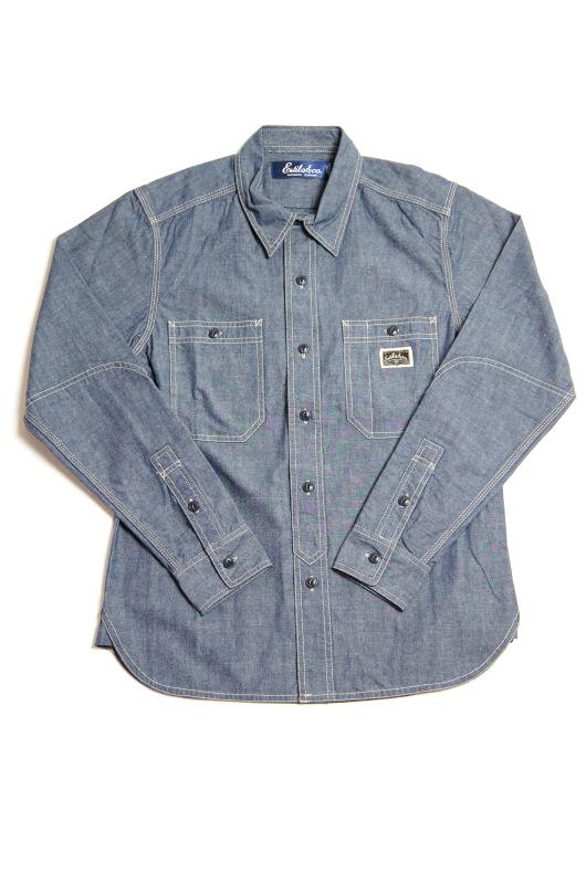 """画像1: 【Estilo&co.】""""Boonies Chambray Shirt"""""""