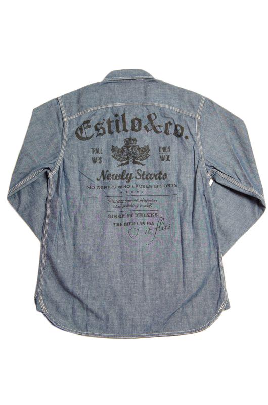 """画像3: 【Estilo&co.】""""Boonies Chambray Shirt"""""""