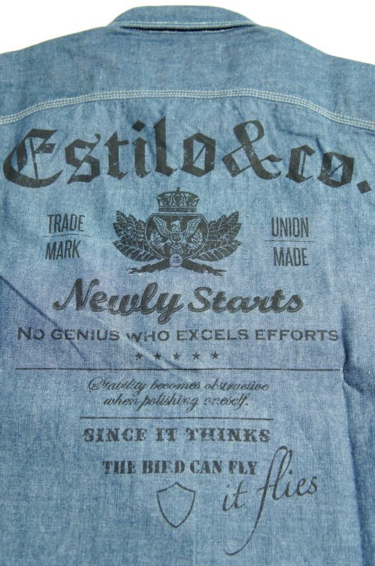 """画像5: 【Estilo&co.】""""Boonies Chambray Shirt"""""""