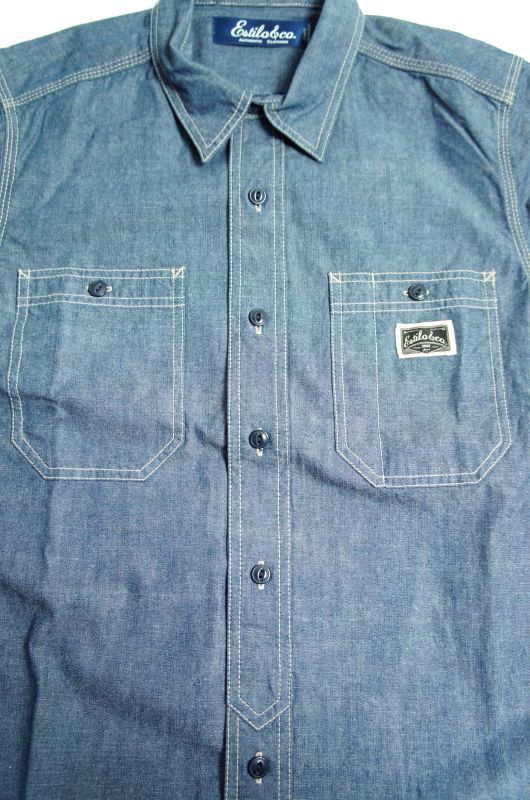 """画像4: 【Estilo&co.】""""Boonies Chambray Shirt"""""""
