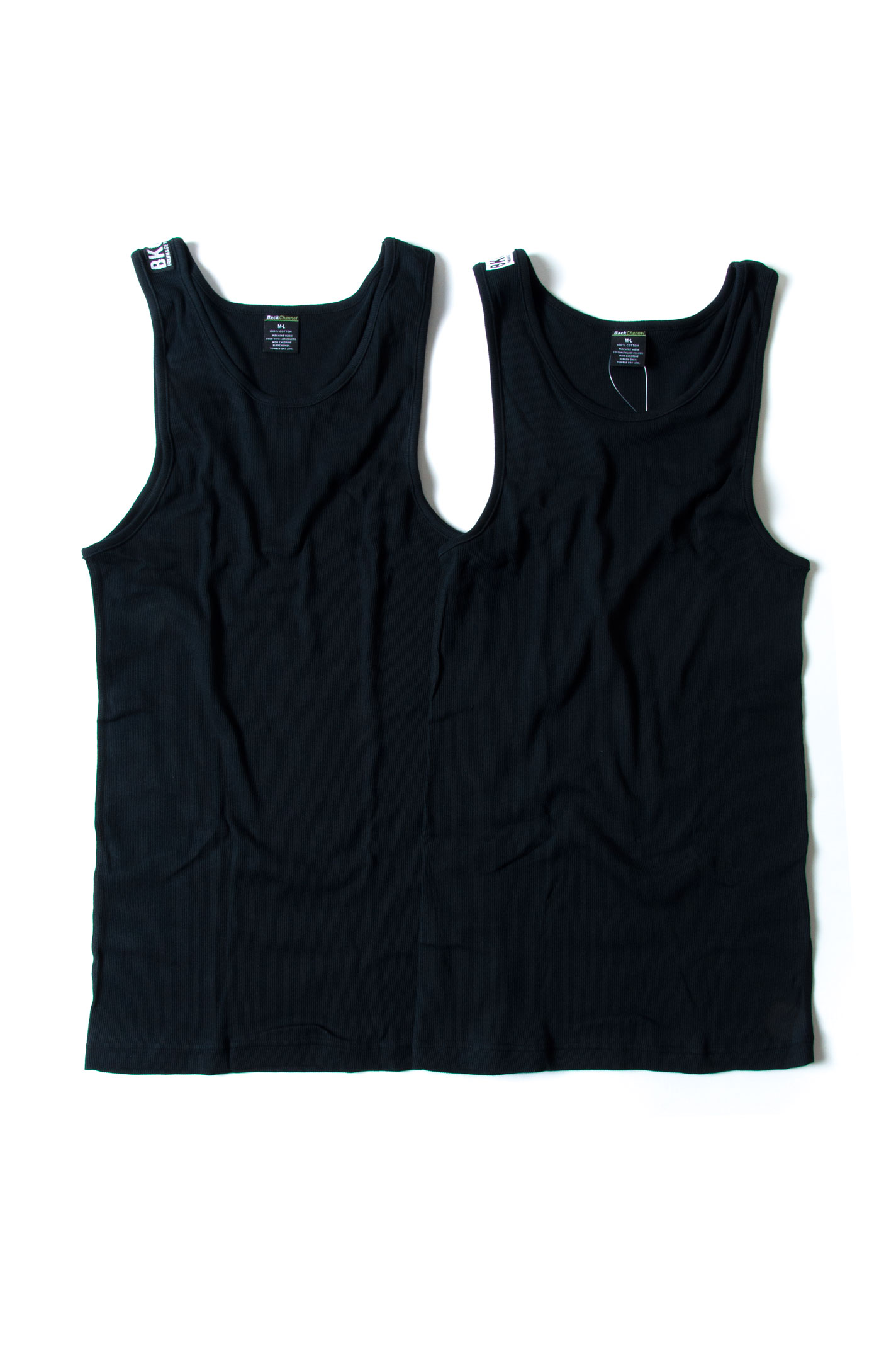 画像2: 【Back Channel】 2P TANK TOP