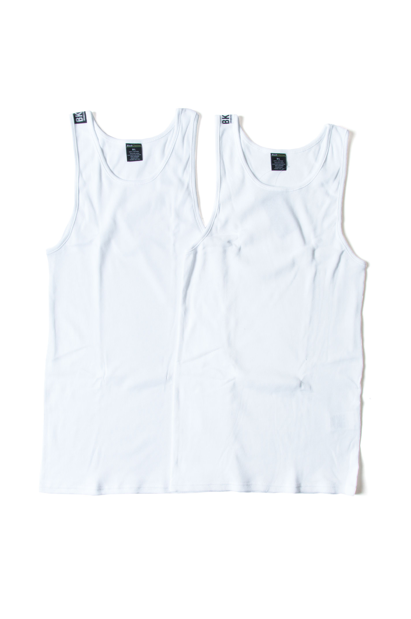 画像1: 【Back Channel】 2P TANK TOP
