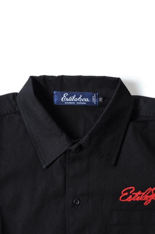 画像3: 【Estilo&co.】 One Rose Work Shirt