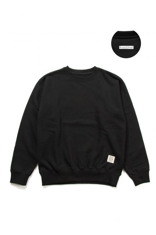 画像1: 【Rough&Tough】LOGO BLANK CREW SWEAT