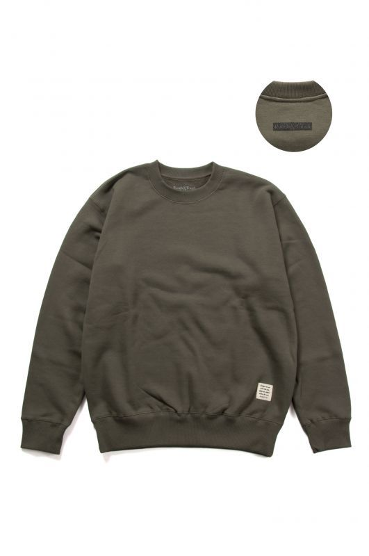 画像2: 【Rough&Tough】LOGO BLANK CREW SWEAT