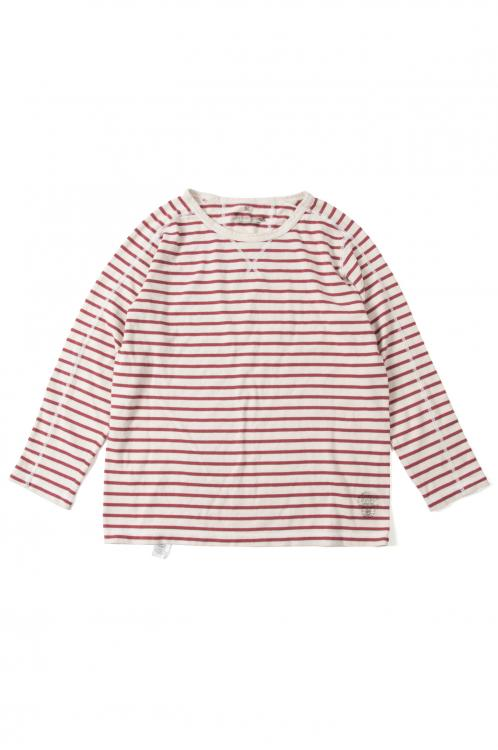 画像2: 【CALMAN HENRY CLOTHING】 LONG SLEEVE CREW NECK TEE