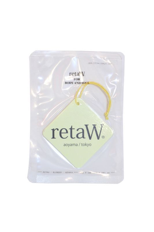 画像1: 【retaW】 Fragrance Car Tag OYL