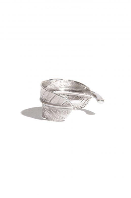 画像3: 【LARRY SMITH】 SMALL FEATHER RING