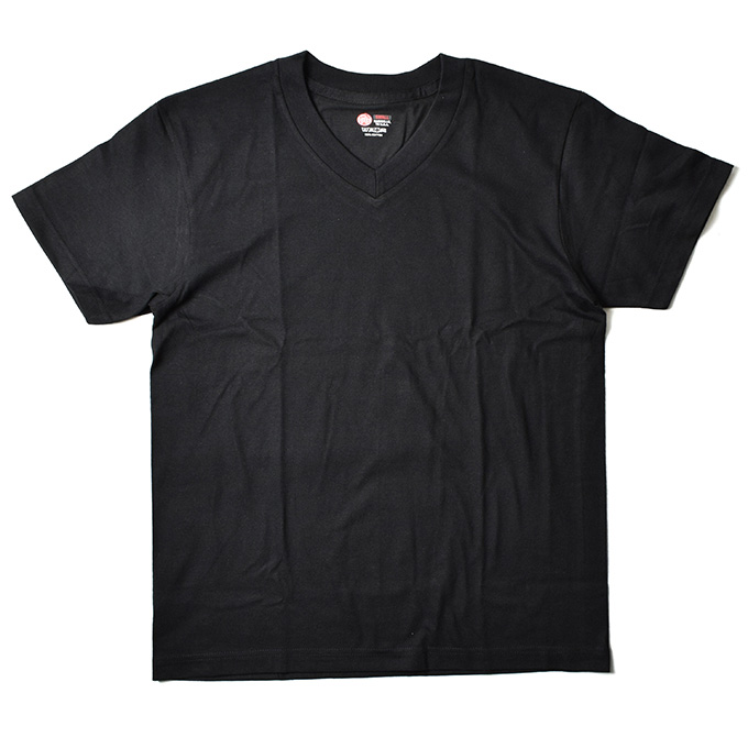 画像2: 【REDKAP】V-NECK SINGLE JERSEY 2 PACK Tee
