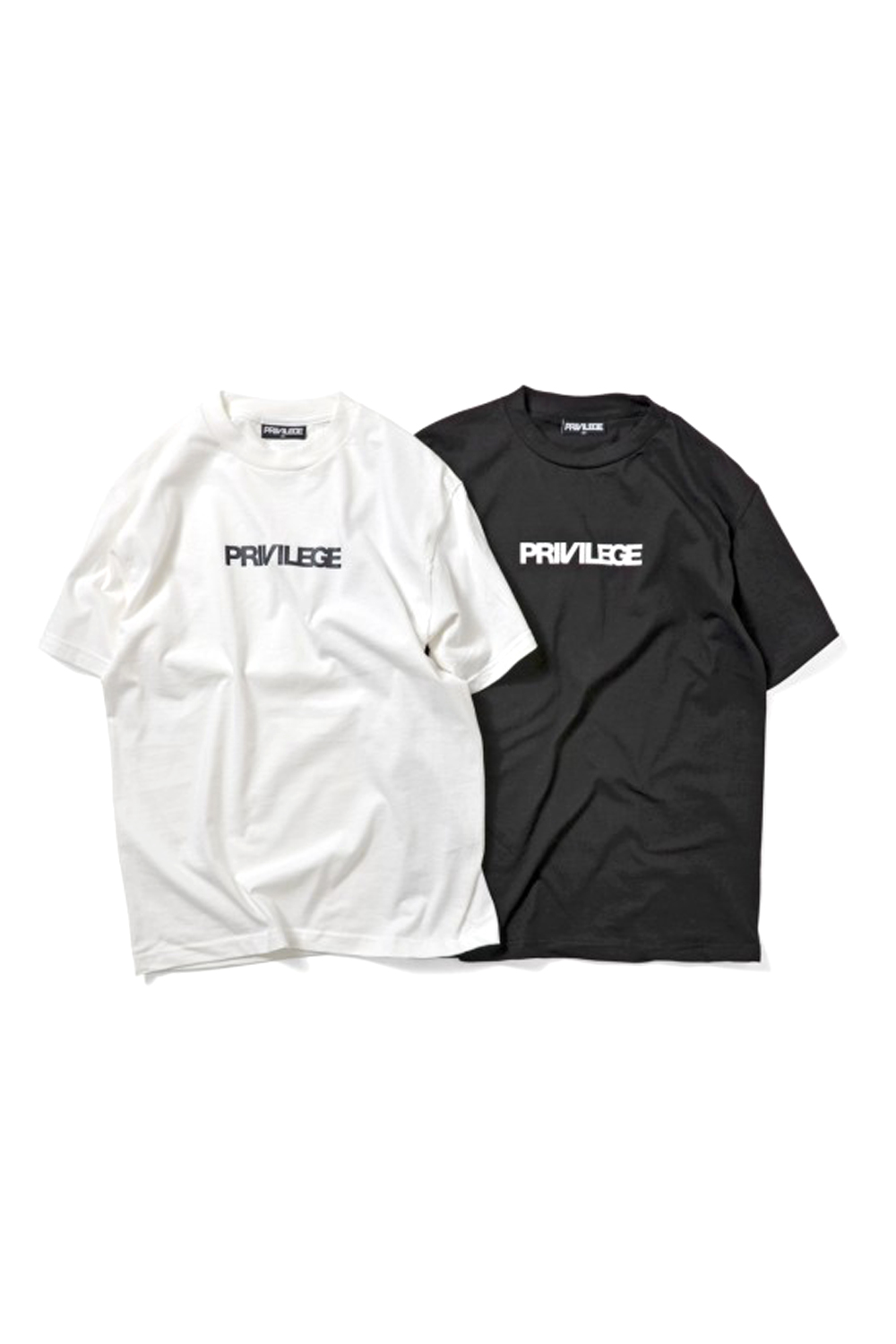 画像1: 【PRIVILEGE】PRIVILEGE SMALL CORE LOGO TEE