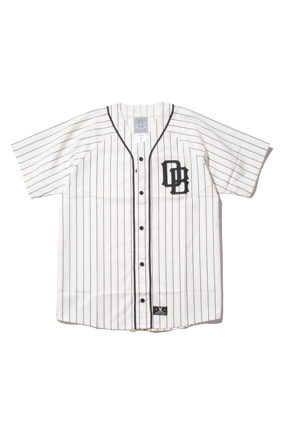 画像1: 【DUPPIES】 STRIPE BASEBALL SHIRTS