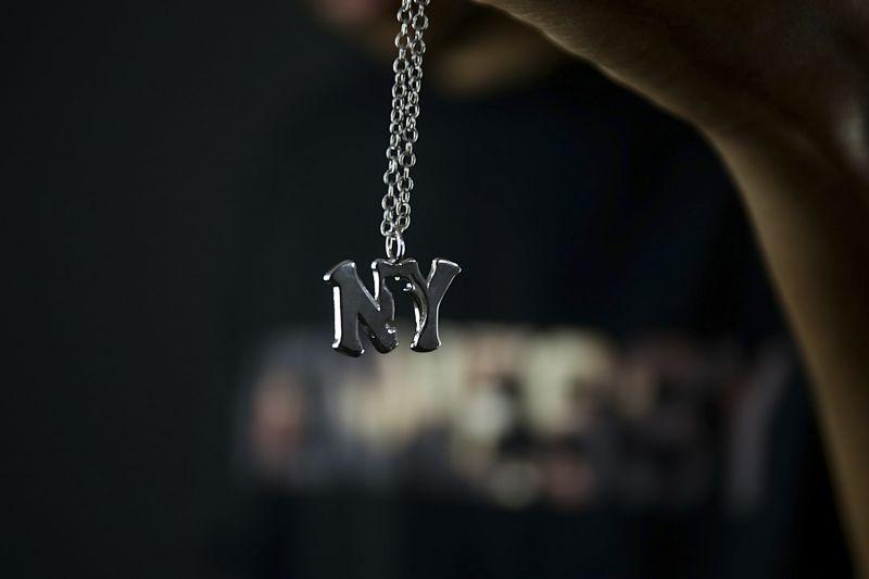 画像3: 【LAFAYETTE】Lafayette × HOWWEDO RUN NYC NECKLACE
