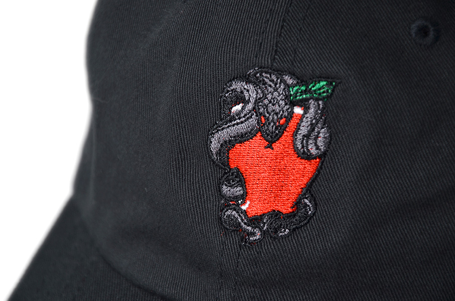 画像3: 【PRIVILEGE】SNAKE & APPLE DAD HAT
