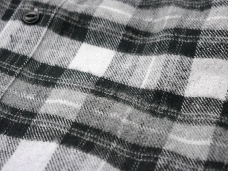 画像3: 【INTERBREED】Plaid Round Yoke Shirt