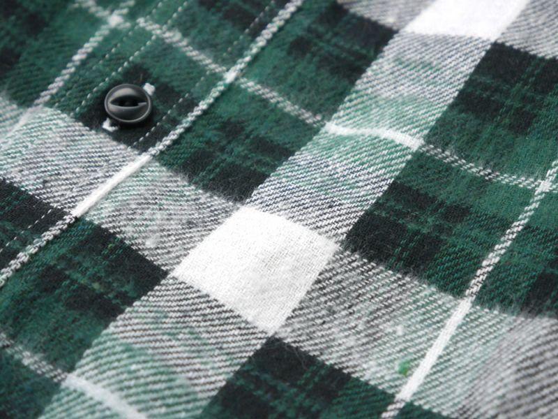 画像4: 【INTERBREED】Plaid Round Yoke Shirt