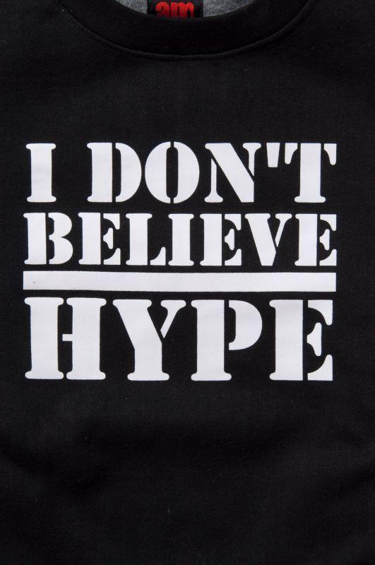 画像3: 【am】I Don't Believe Hype Crewneck Sweatshirts
