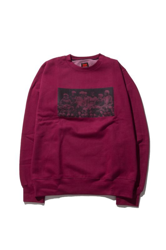 画像1: 【am】Thugy Crewneck Sweatshirts