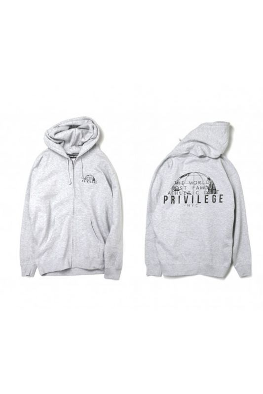 画像1: 【PRIVILEGE】WORLD FAMOUS ZIP UP HOODIE