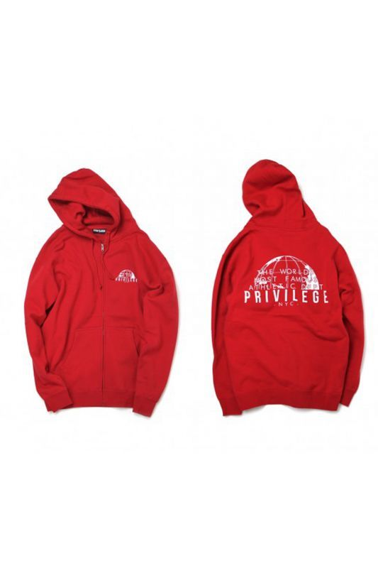 画像3: 【PRIVILEGE】WORLD FAMOUS ZIP UP HOODIE