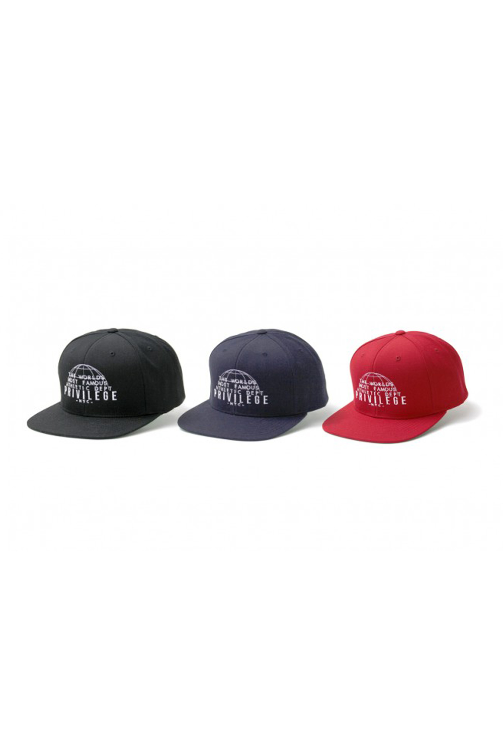 画像1: 【PRIVILEGE】WORLD FAMOUS SNAPBACK CAP