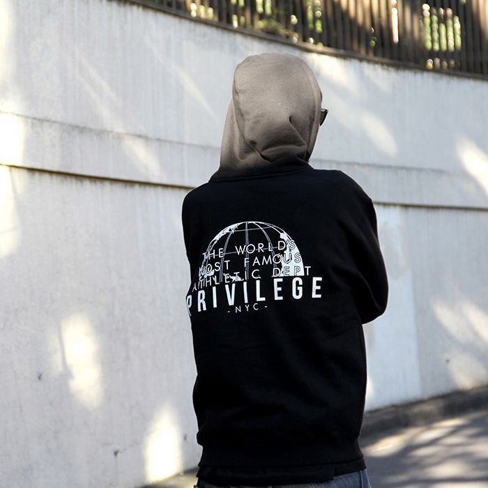 画像4: 【PRIVILEGE】WORLD FAMOUS ZIP UP HOODIE