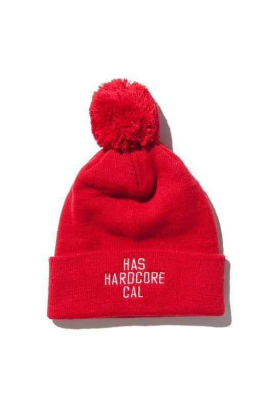 画像2: 【HIDEANDSEEK】HARD CORE CAL Knit CAP