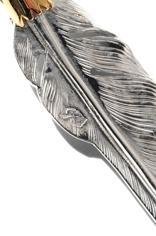 画像3: 【LARRY SMITH】 18K EAGLE HEAD KAZEKIRI FEATHER -L-