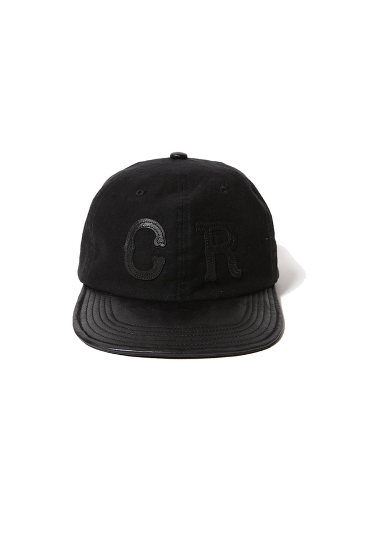 画像2: 【CUTRATE】LEATHER COMBINATION CAP