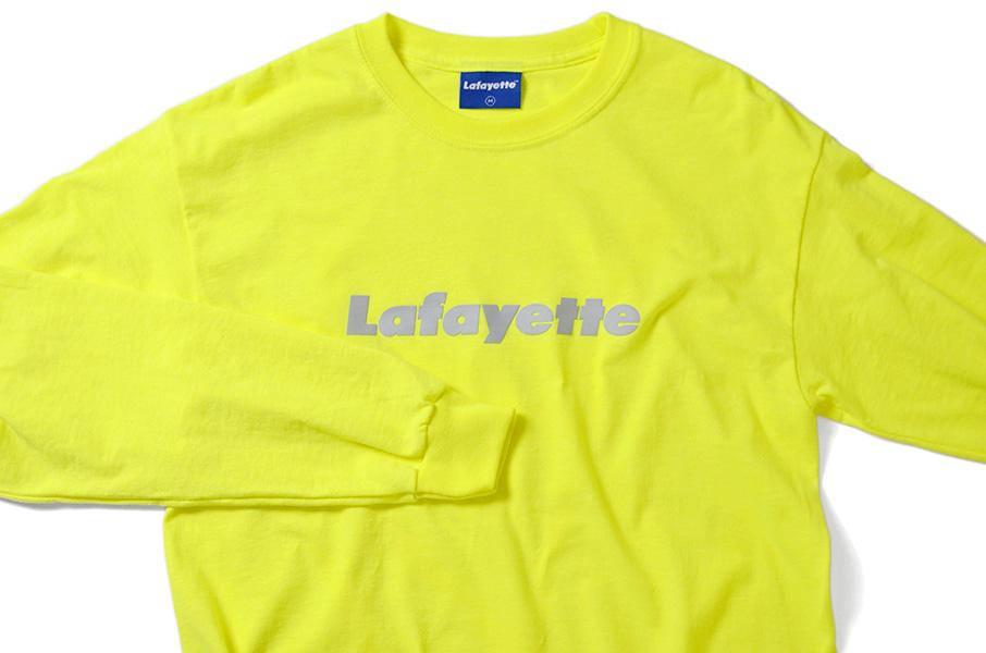 画像3: 【LAFAYETTE】Lafayette LOGO L/S TEE