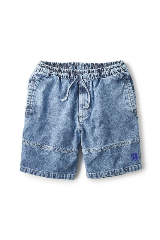 画像1: 【INTERBREED】Chemical Washed Court Shorts