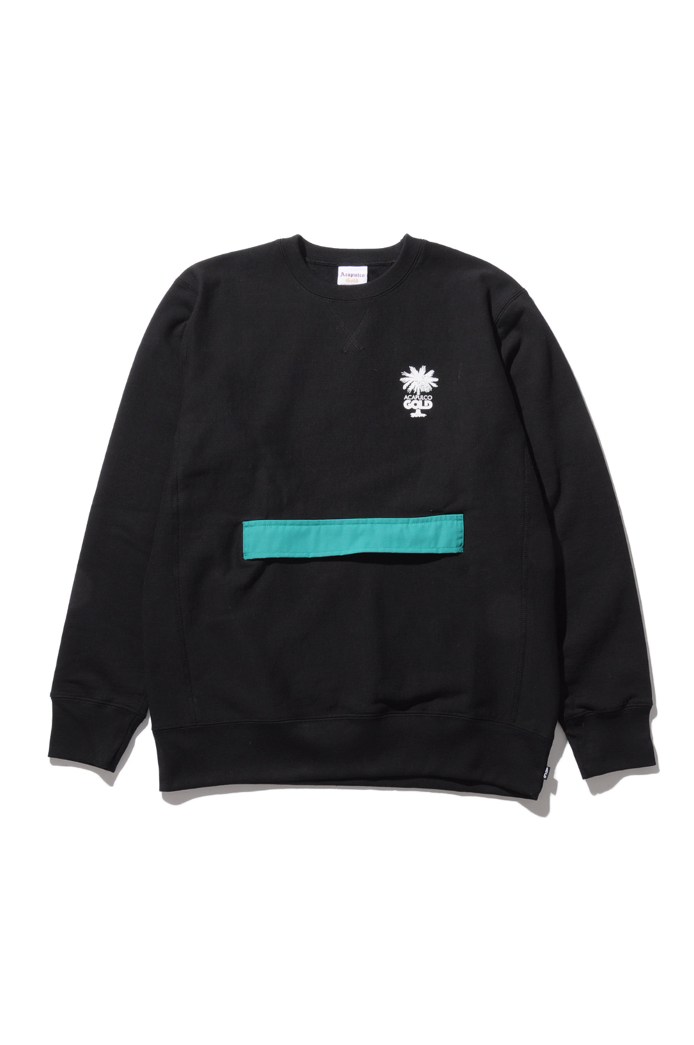 画像1: 【ACAPULCO GOLD】STOW POCKET CREWNECK