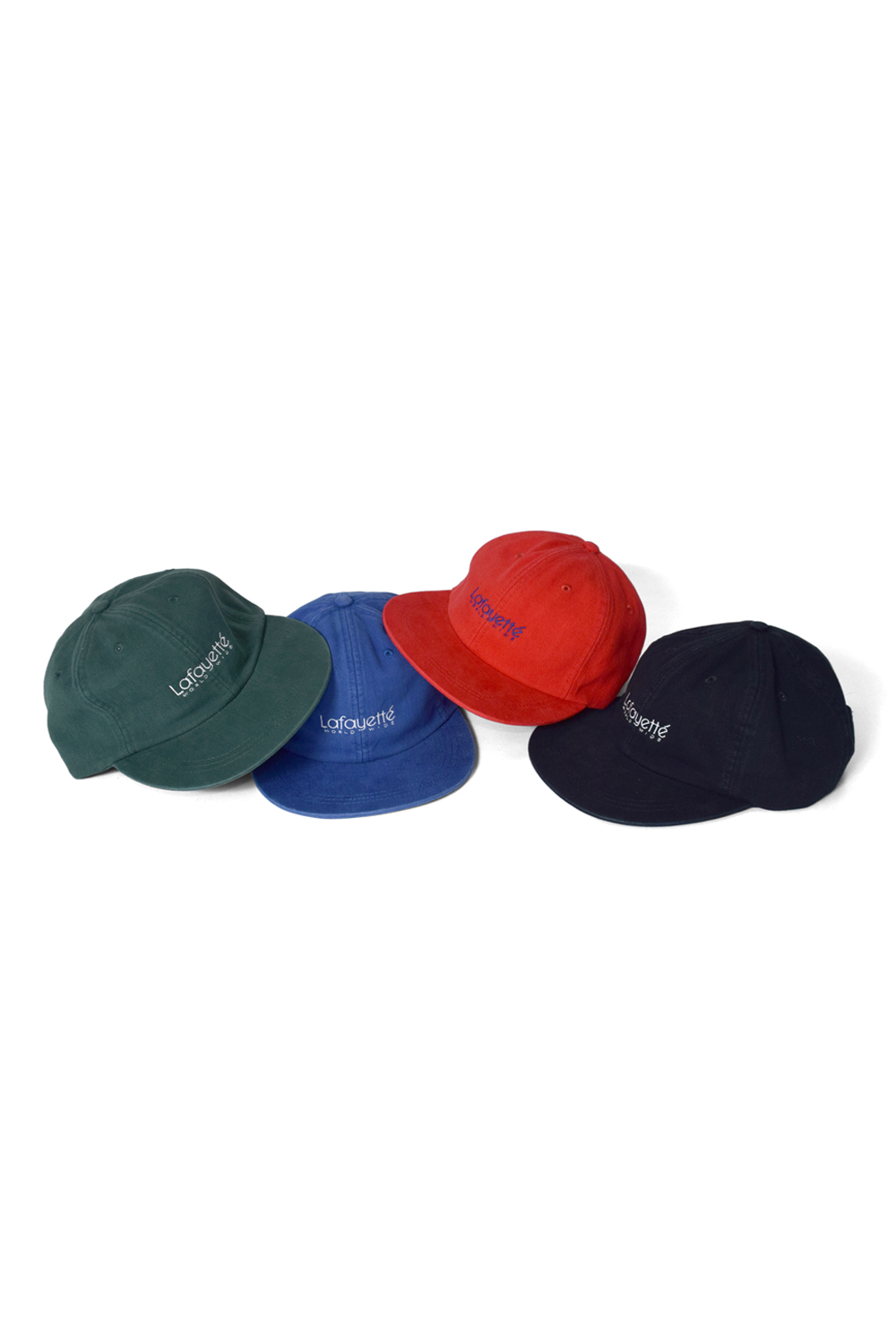 画像1: 【LAFAYETTE】LOGO BRUSHED COTTON 6 PANEL CAP