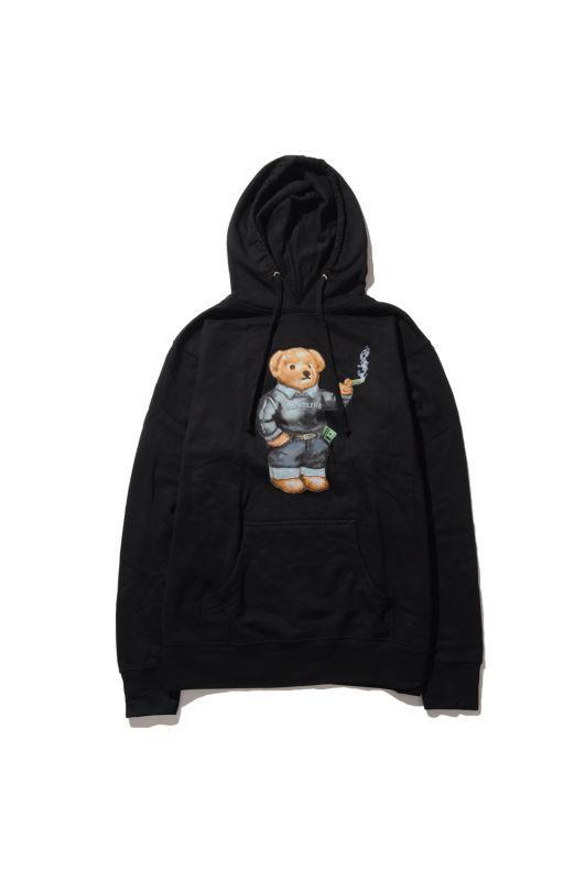 画像1: 【DEADLINE】420 Blunt Bear Hoodie
