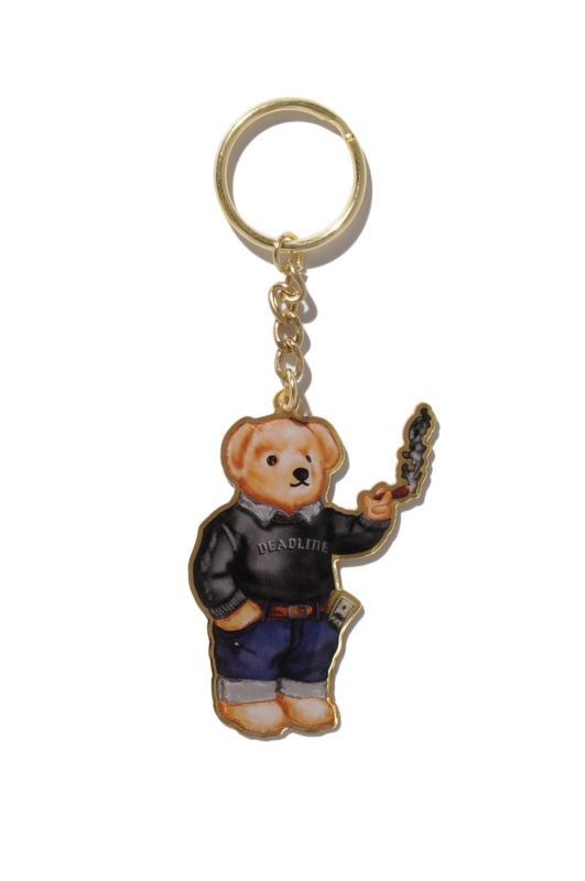 画像1: 【DEADLINE】420 Blunt Bear Key Chain