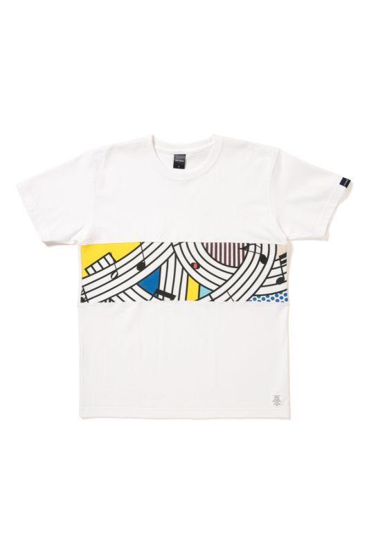"""画像1: 【APPLEBUM】""""Note"""" Mixed T-shirt"""