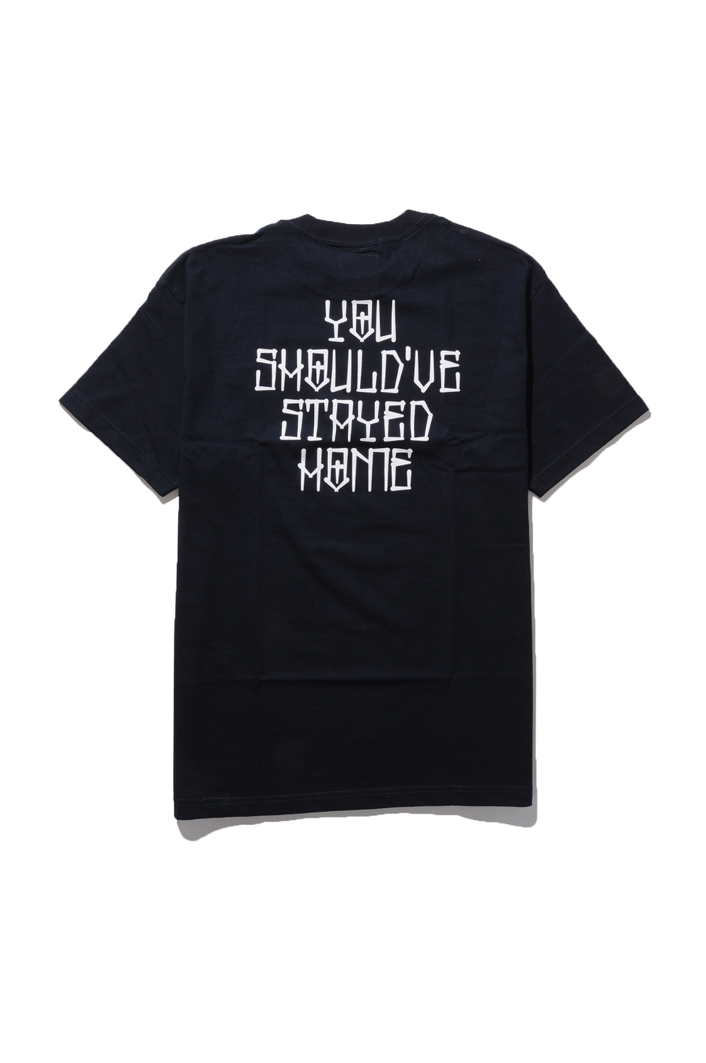 画像3: 【am】YOU SHOULDVE STAYED HOME POCKET TEE