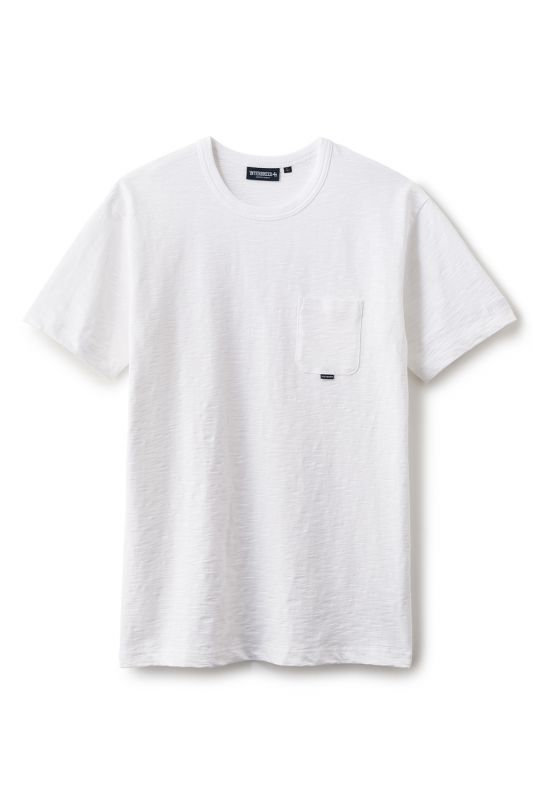 画像4: 【INTERBREED】Slab Cotton Pocket Tee