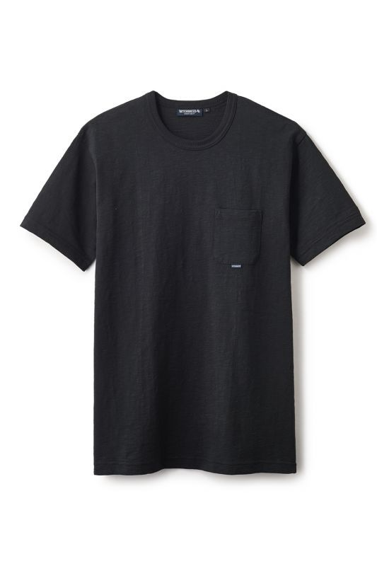 画像1: 【INTERBREED】Slab Cotton Pocket Tee