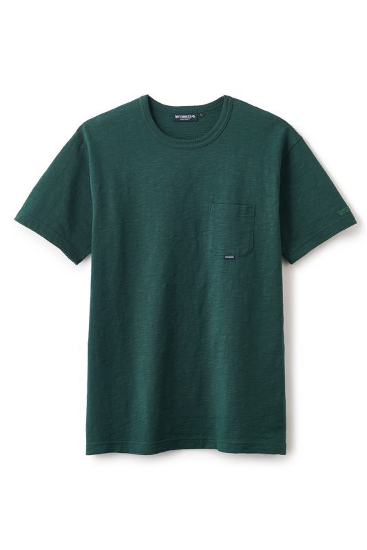 画像2: 【INTERBREED】Slab Cotton Pocket Tee