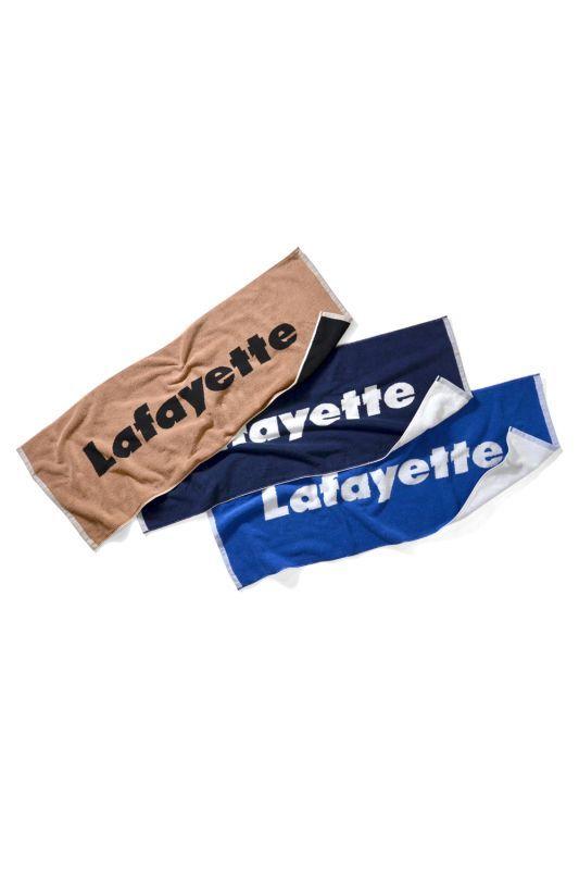 画像1: 【LAFAYETTE】LOGO JACQUARD SPORTS TOWEL