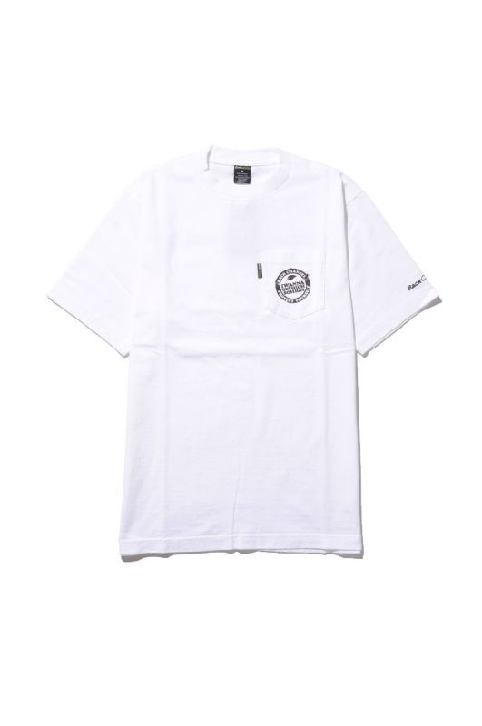 画像1: 【Back Channel】LOGO POCKET T