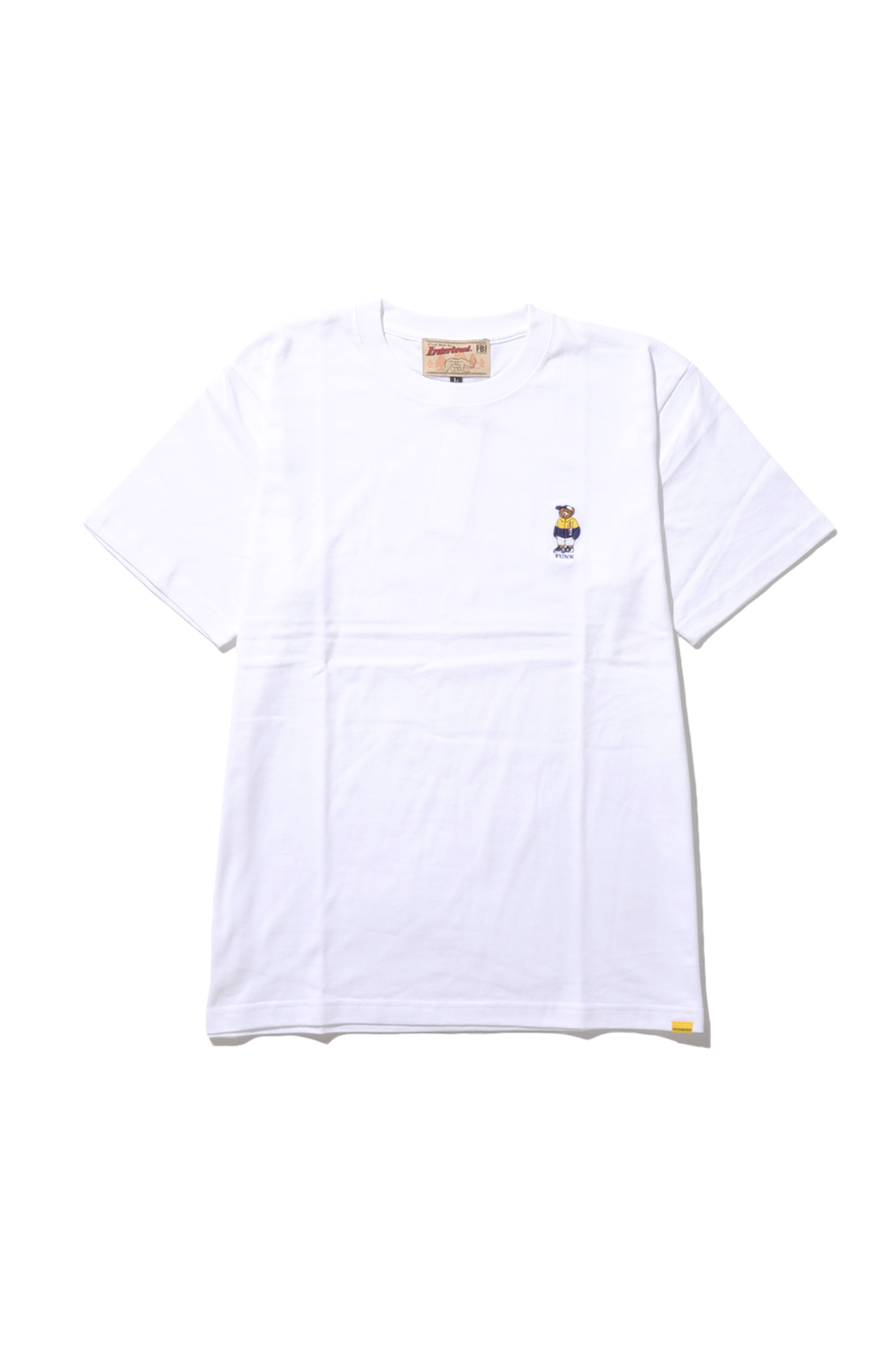 画像1: 【INTERBREED】SPORTS Bear Embroidered SS Tee
