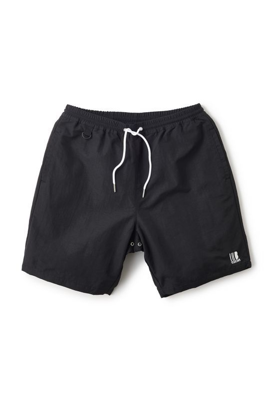 画像1: 【INTERBREED】Solid Nylon Beach Shorts