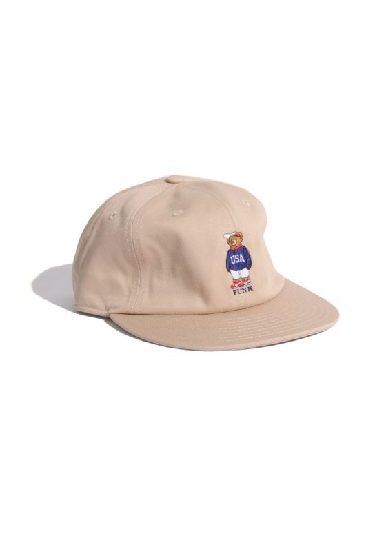 画像1: 【INTERBREED】USA Bear Ball Cap