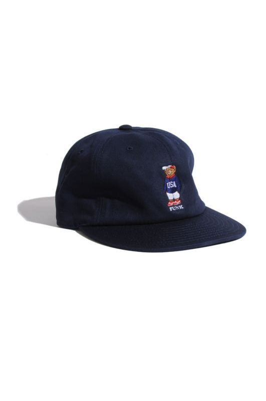 画像2: 【INTERBREED】USA Bear Ball Cap