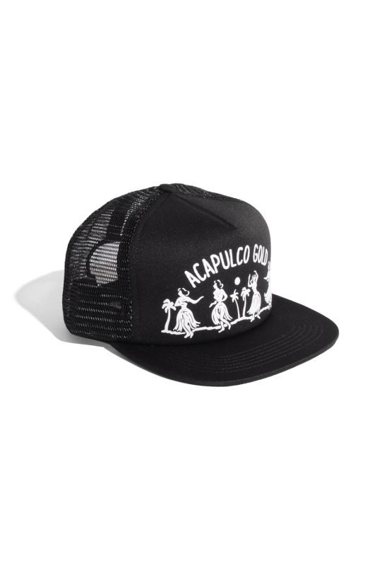 画像1: 【ACAPULCO GOLD】HULA GIRL TRUCKER HAT