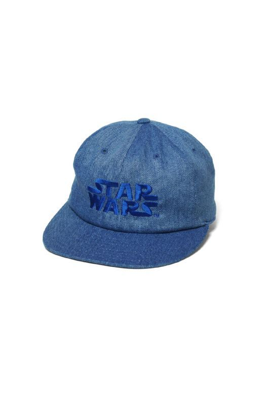 "画像1: 【INTERBREED】STAR WARS™ x INTERBREED ""Denim Logo Cap"""