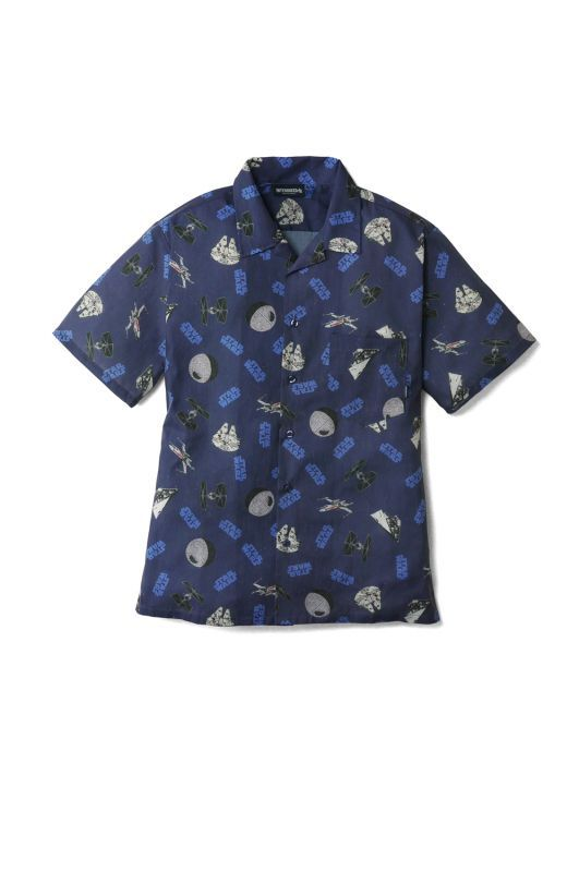 "画像1: 【INTERBREED】STAR WARS™ x INTERBREED ""Vehicles Textile Shirt"""