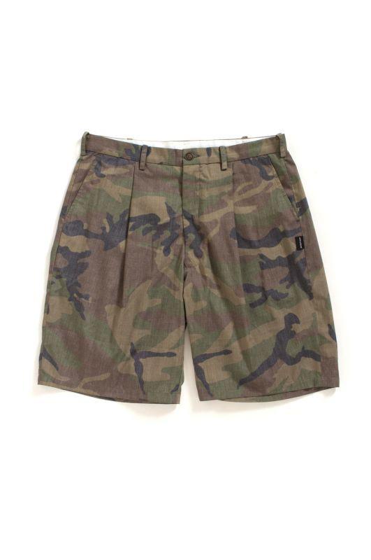 画像1: 【APPLEBUM】Camo Big Silhouette Short Pants