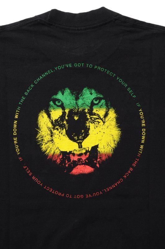 画像4: 【Back Channel】RASTA BC LION T